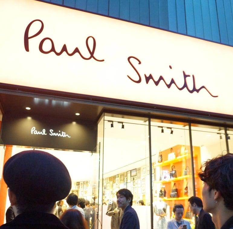 グランドオープンした「ポール・スミス 六本木店」にメンズノンノモデル来店!