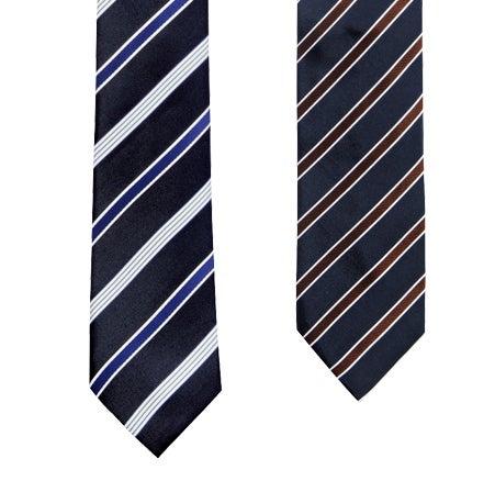 就活スーツのネクタイは「レジメンタルタイ」ならば間違いない!