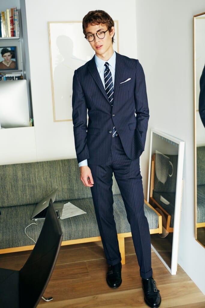 面接に通りやすそうなスーツ!