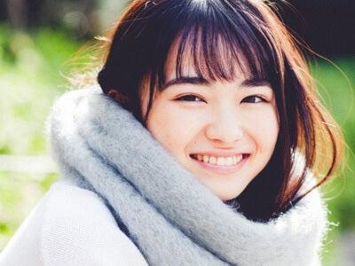 16歳の現役女子高生! 山田杏奈さんの怒り顔、のち笑顔。