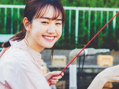 スーパー戦隊のピンクとして戦う、尾碕真花さんを釣りデートに誘ったら
