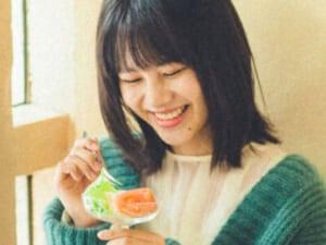松風理咲さんと喫茶店デート。透明感がすごい、でも好きな食べ物はモツ!