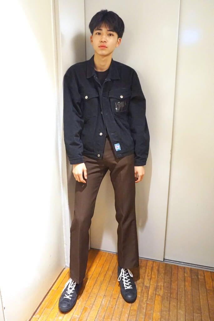 モデルの間でこのパンツが流行中!