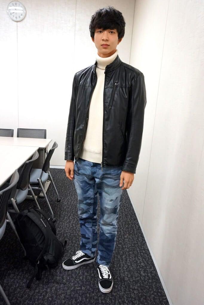 新メンズノンノモデルの鈴木 仁です。