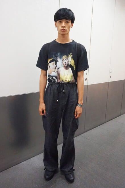 Tシャツにプリントされているのは、あのエミネムです!