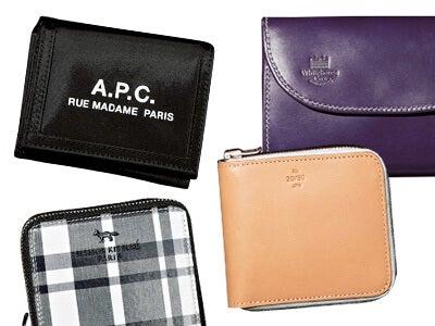 大きすぎず小さすぎない財布。ちょうどいい「M」サイズの10選!