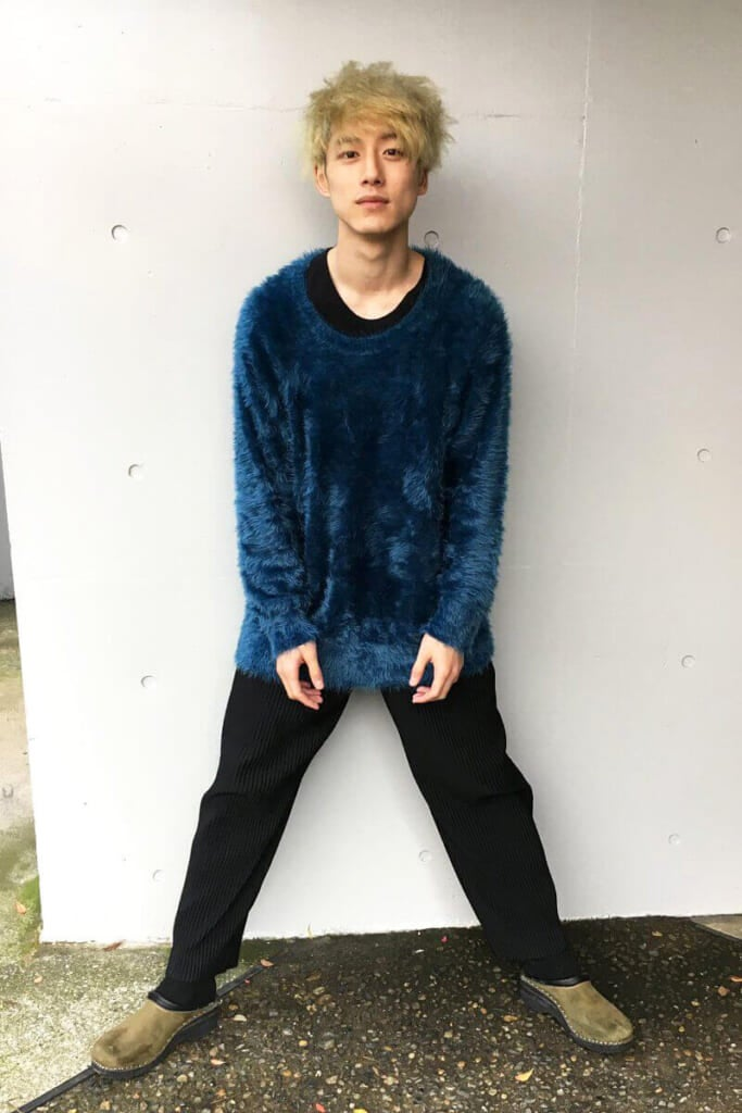2017年は、金髪で迎えた坂口健太郎です!