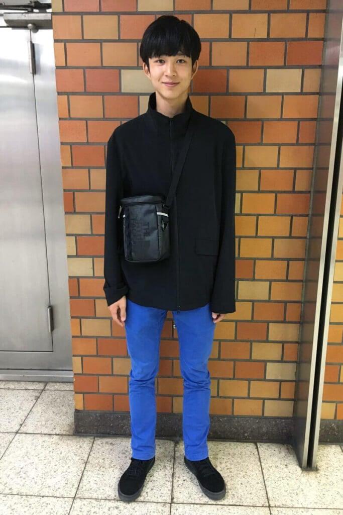 高3になって、私服に黒が増えてきたかもしれません。