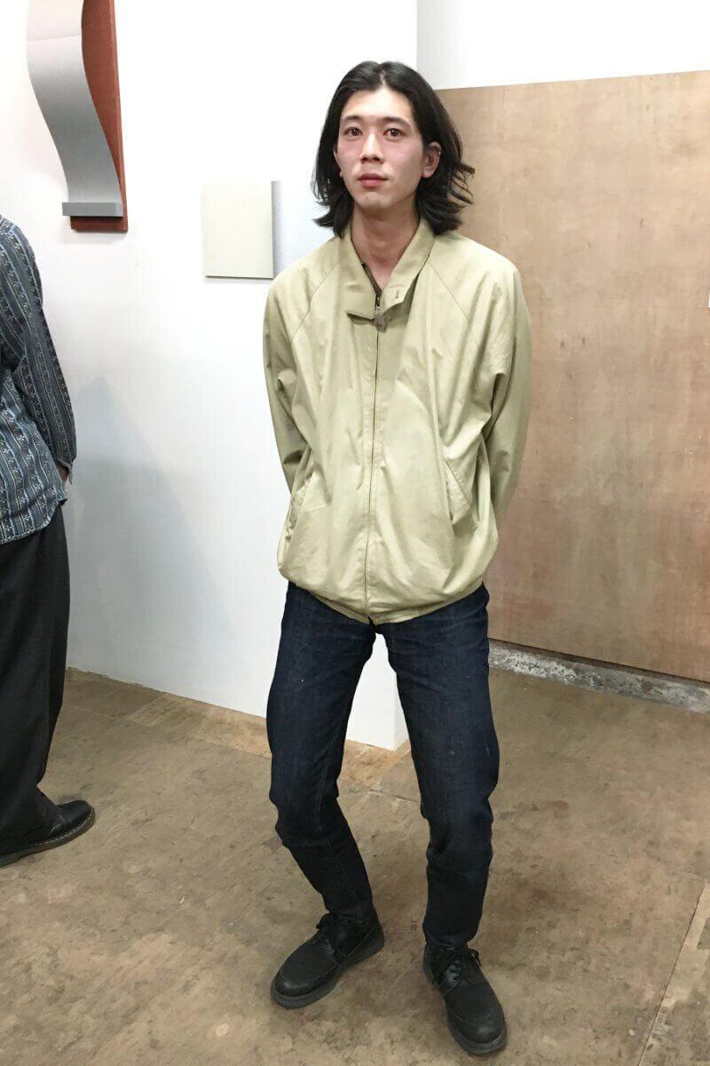 アート展にて、みなさんをお迎えしたコーディネート