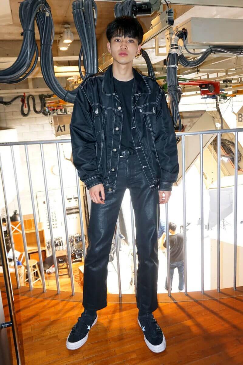 中田といえば、黒。夏もブラックスタイルを貫きます!