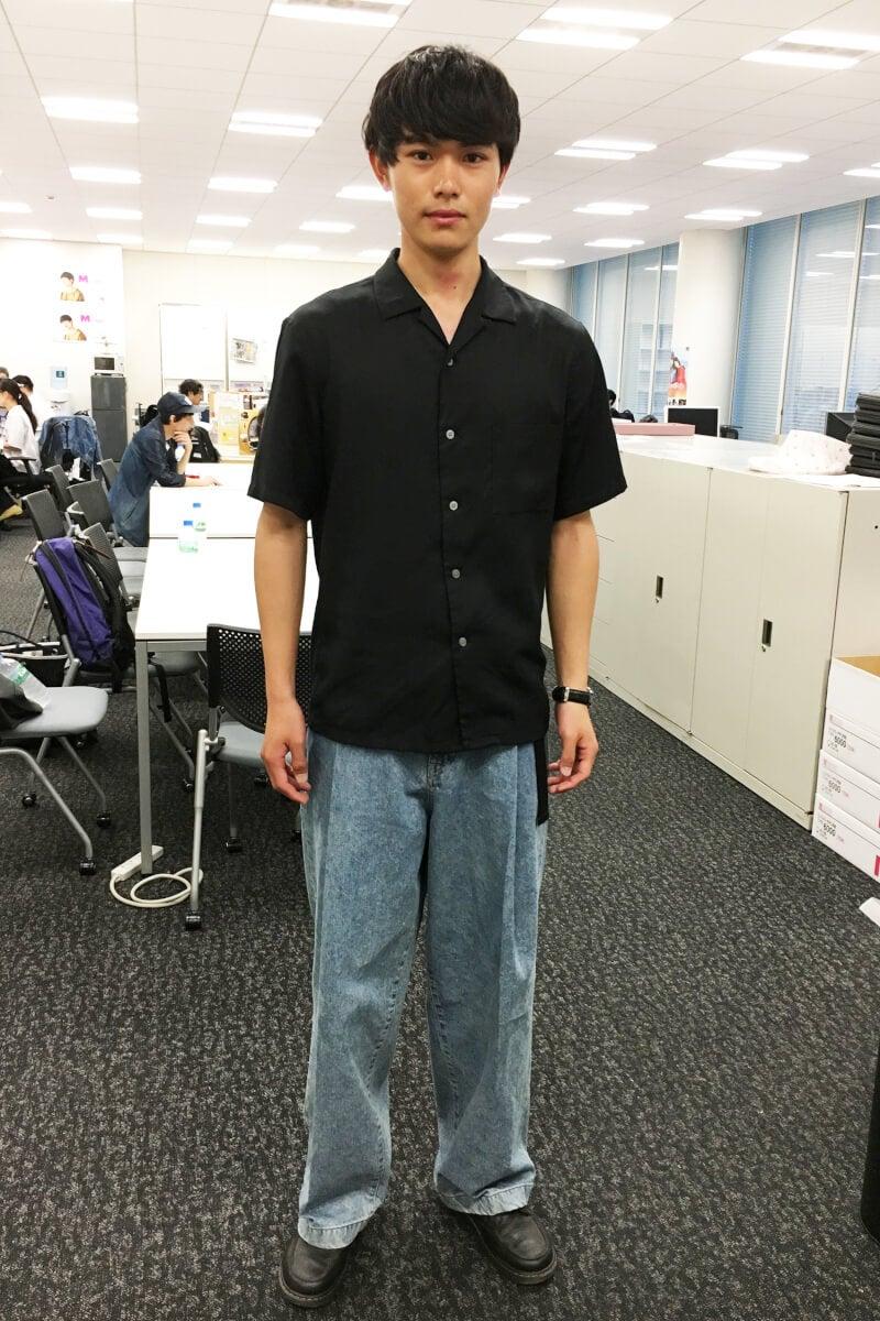 新人・坂田秀晃が、ウェブ私服コーナーにデビュー!
