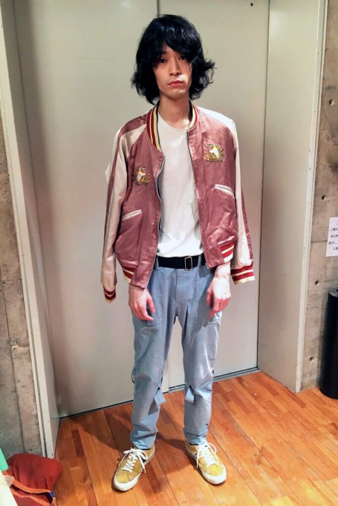 「ザトーキョー」公式スカジャンを着た私服スタイリング!