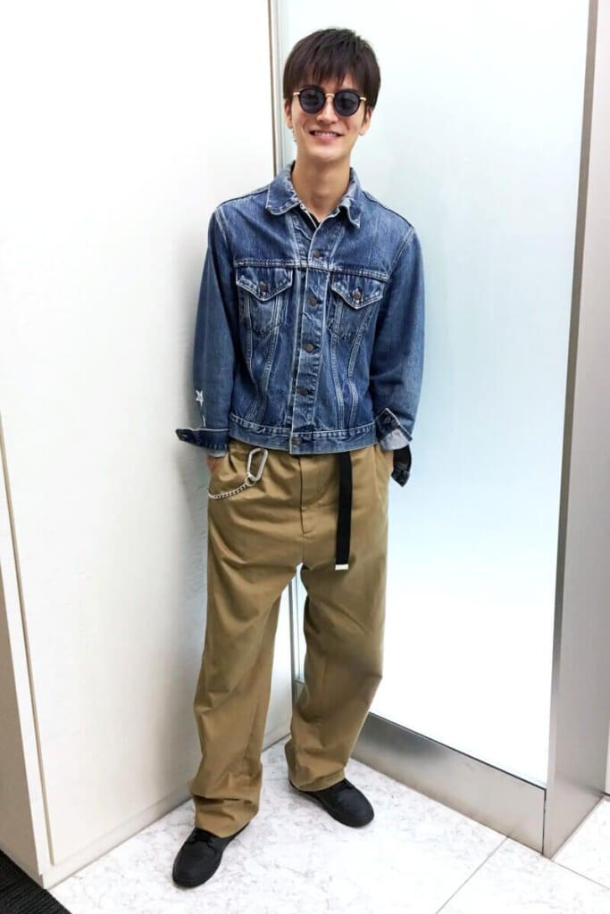 新生「バレンシアガ」のパンツは、奮発して買いました!
