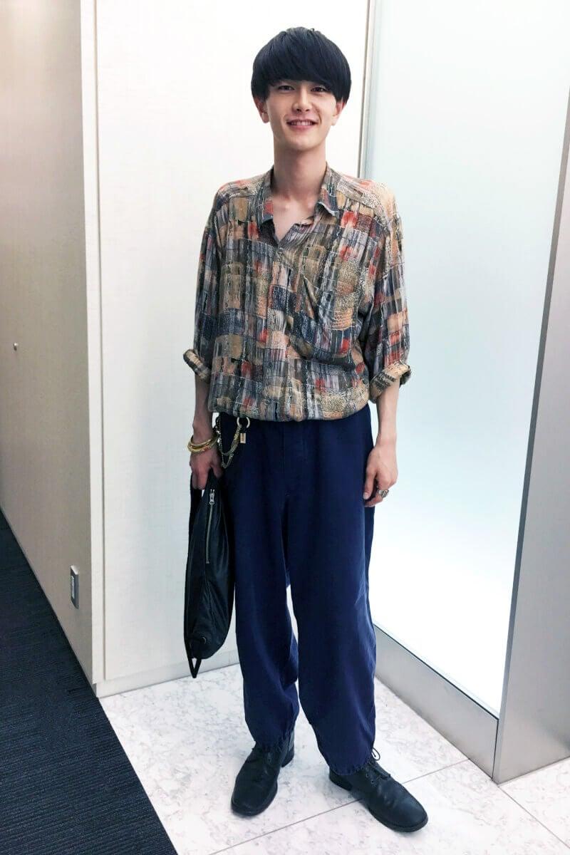 三宅さんとファッションの趣味が近そうな気がしています!