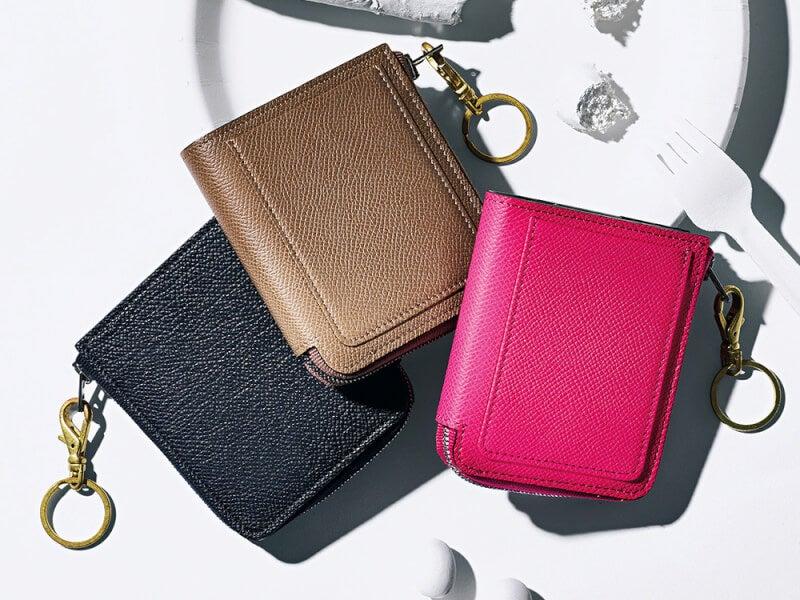 財布を買うなら6月20日!大きく開いて中身も見やすいL字ジップ財布5選