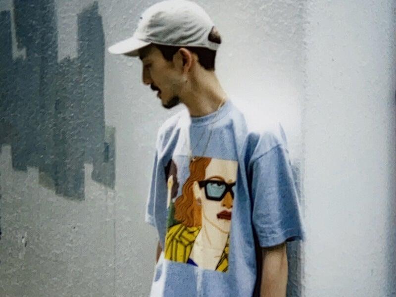 アーティスト飯田梓×パリ発ACASIAS RECORDSのおしゃれ過ぎるTシャツ!