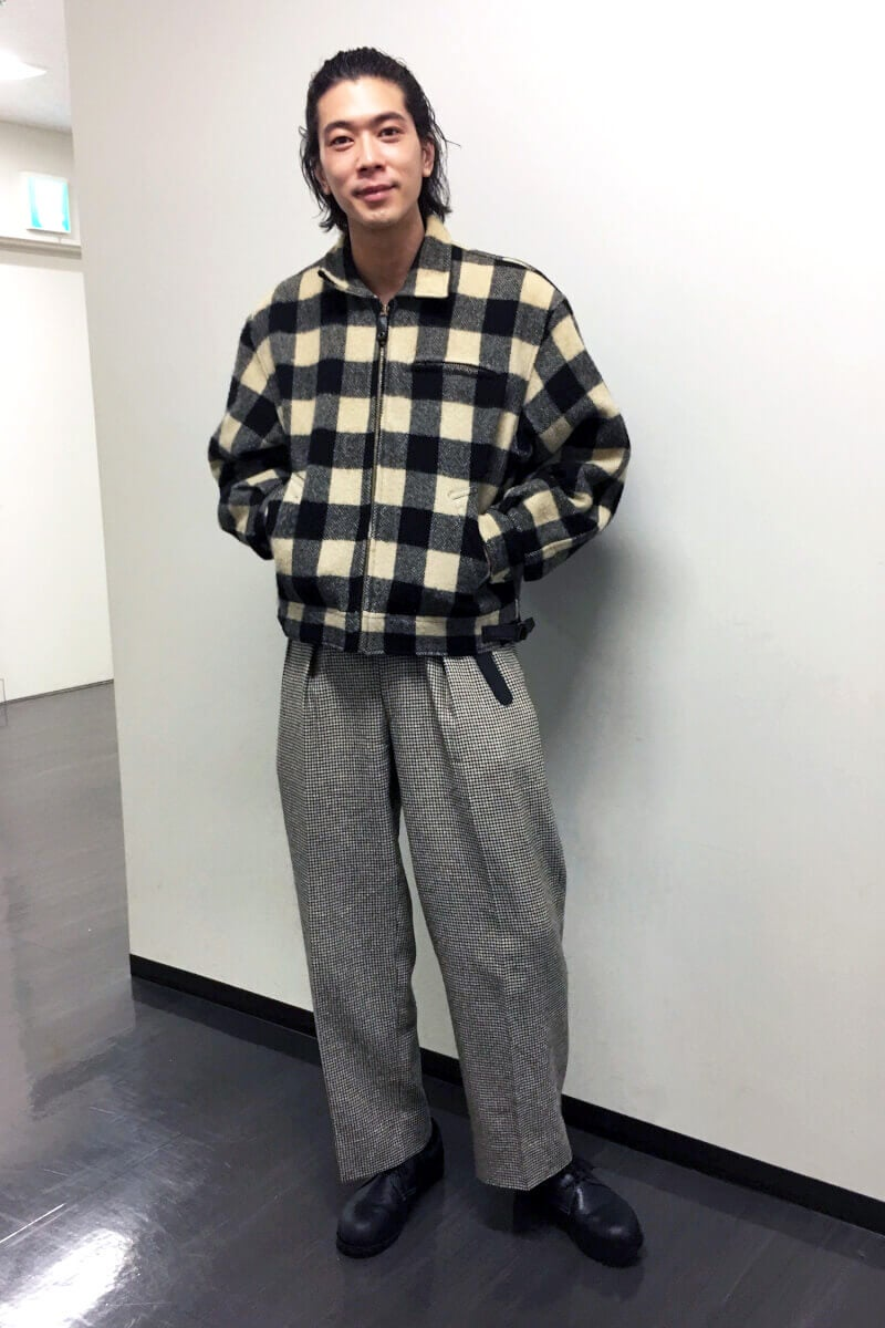 「東コレ」のバックステージでは、こんな私服でした