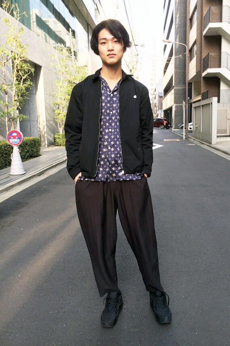 坂口先輩も履いていた「オム プリッセ」のパンツ