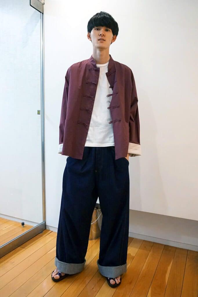 守屋さん、成田さんの私服を参考に自分らしさをミックス!