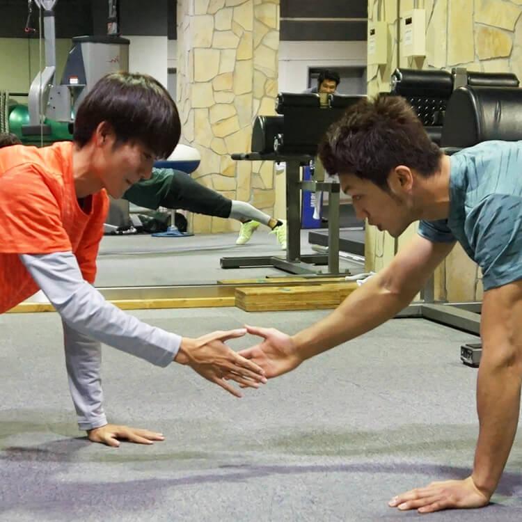 メンズノンノモデル山本涼介、ボクサー村田諒太と奇跡の合同トレーニング