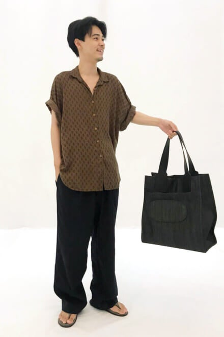 バッグはこのあとNOBUKIYOさんにプレゼント!笑