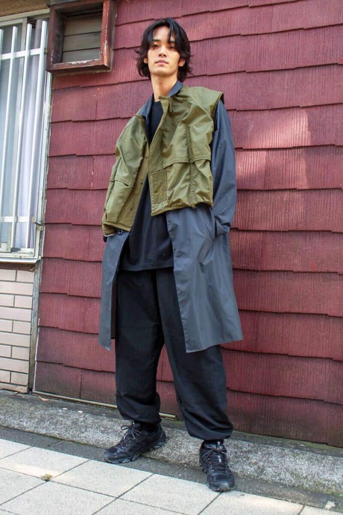 オールミリタリー古着の、雨対策コーディネート!