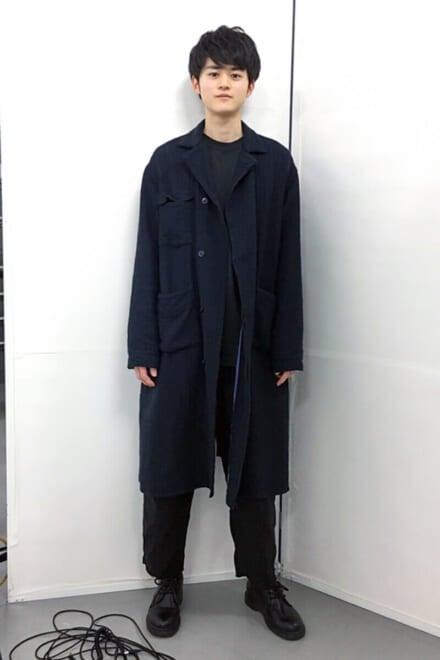 見えていませんが、この古着のコートは実は…