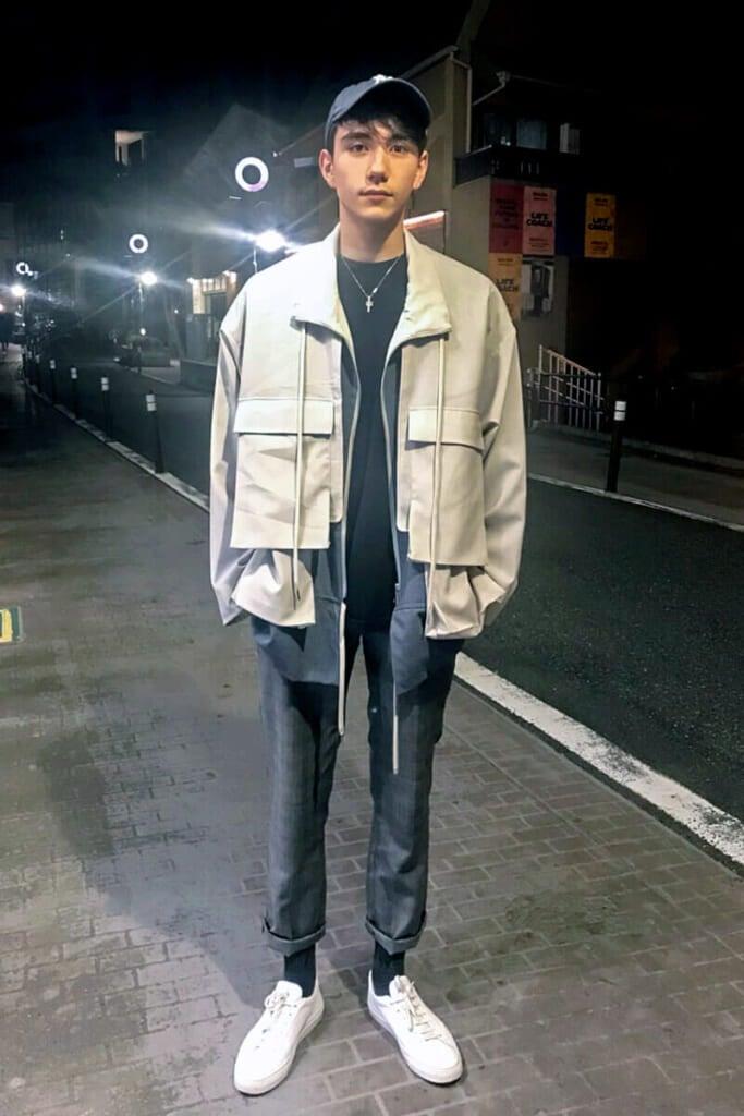 「ハレ」のジャケットを主役にコーディネート!