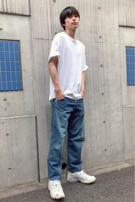 立体裁断のジーンズはシルエットが絶妙です!