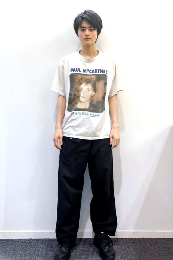 古着屋で一目惚れしてしまったTシャツです!