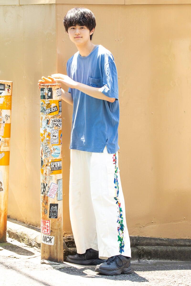 韓国ブランドのパンツを主役にコーデしました