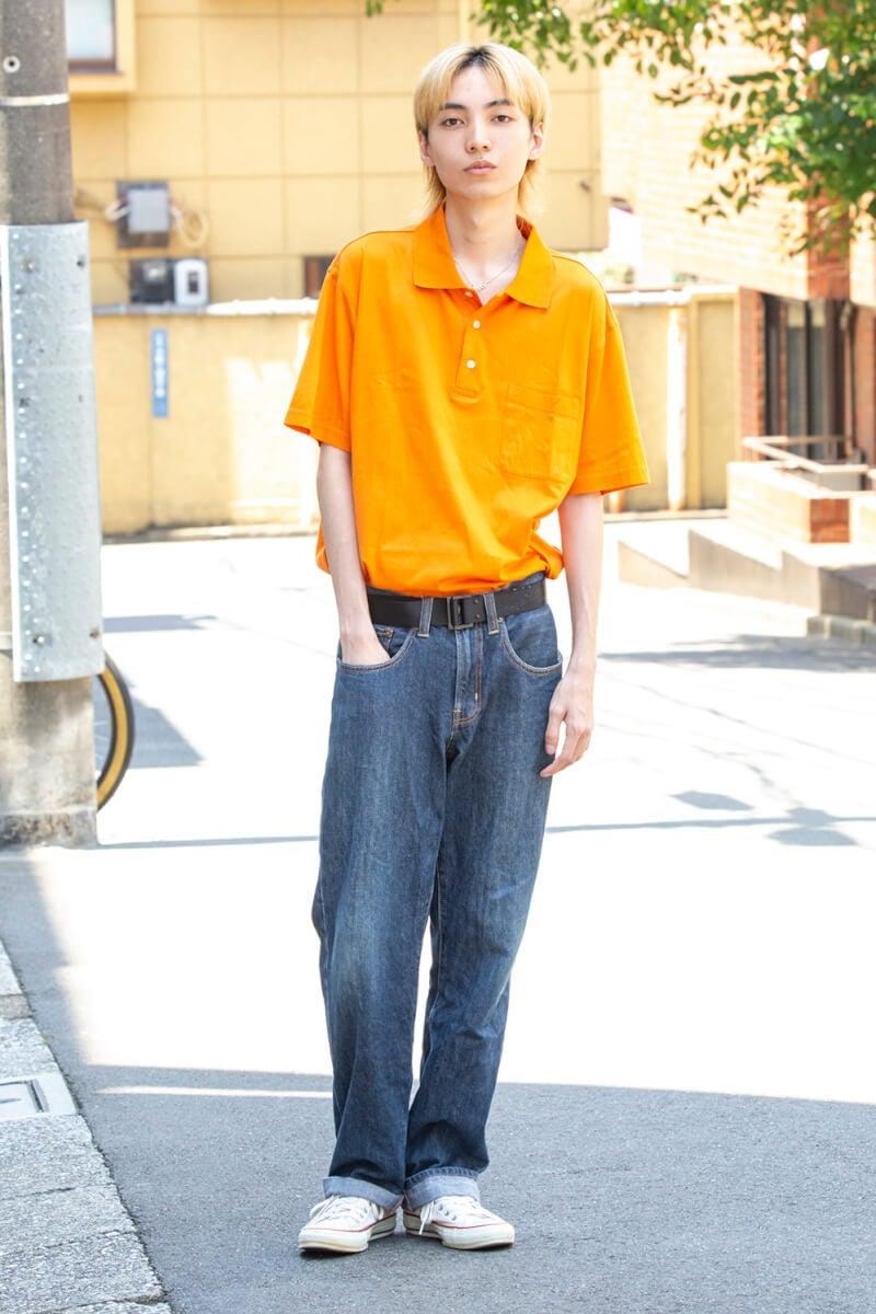 鮮やかなオレンジに一目惚れしたトップス!