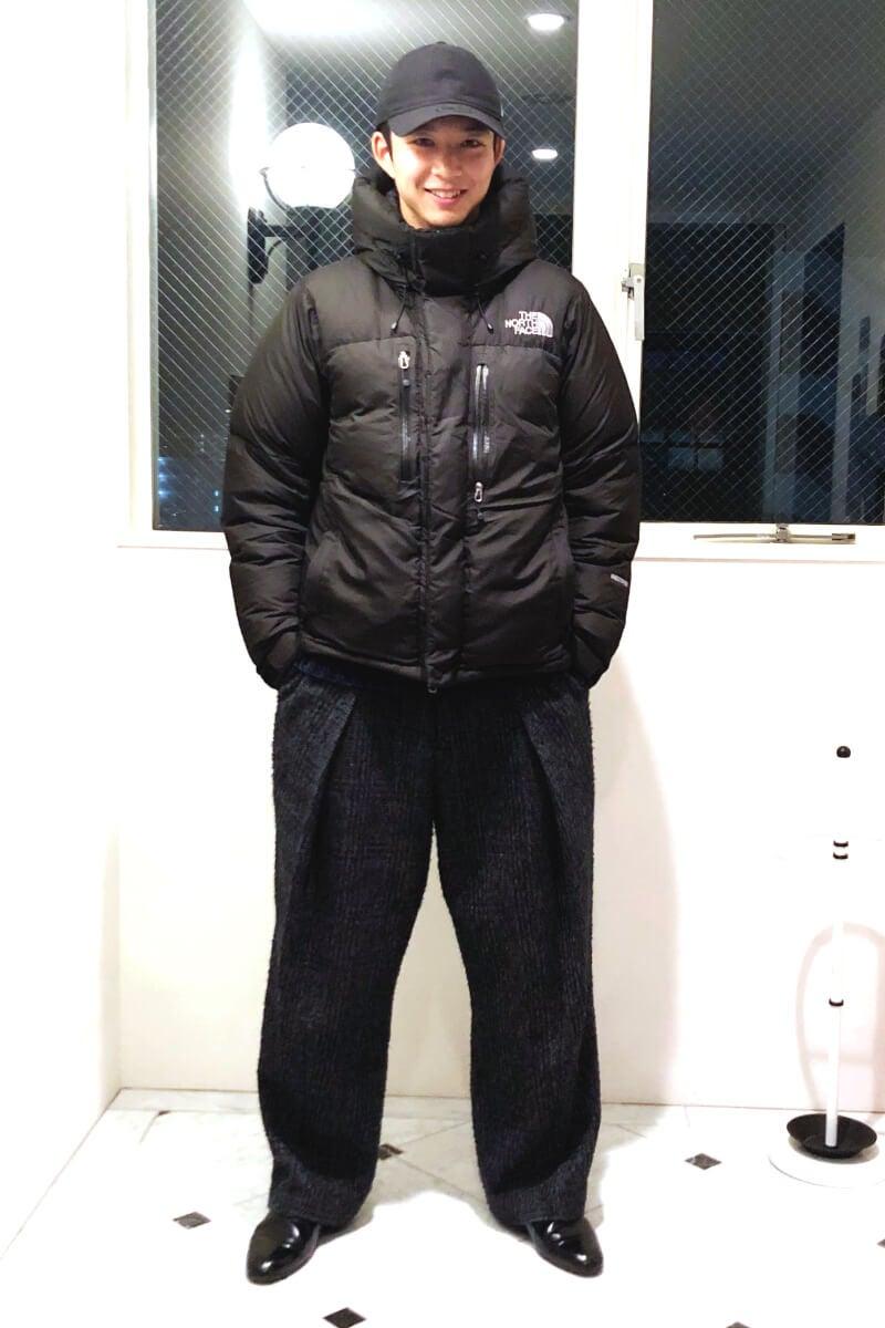 ボリューム感のある防寒コーデで冬を乗り切る!
