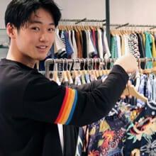 中川大輔、旬アイテムのアロハシャツを「ビームス」でゲット!