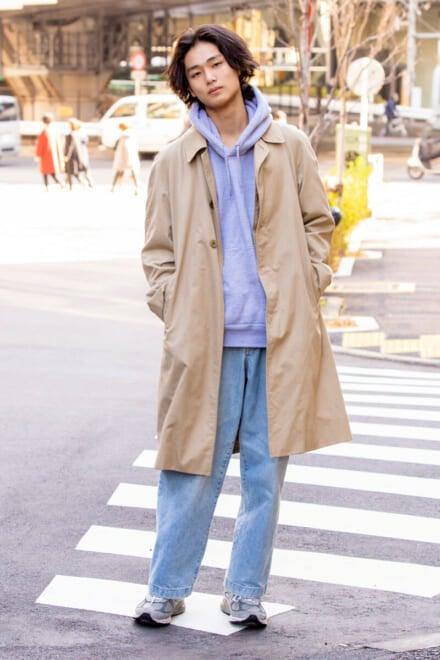 中川家で3代引き継がれたバーバリーのコート