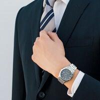 スーツに合うステンレスベルトの時計、3万円台までの9本!