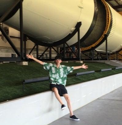 中田圭祐、宇宙(NASA)へ行く!