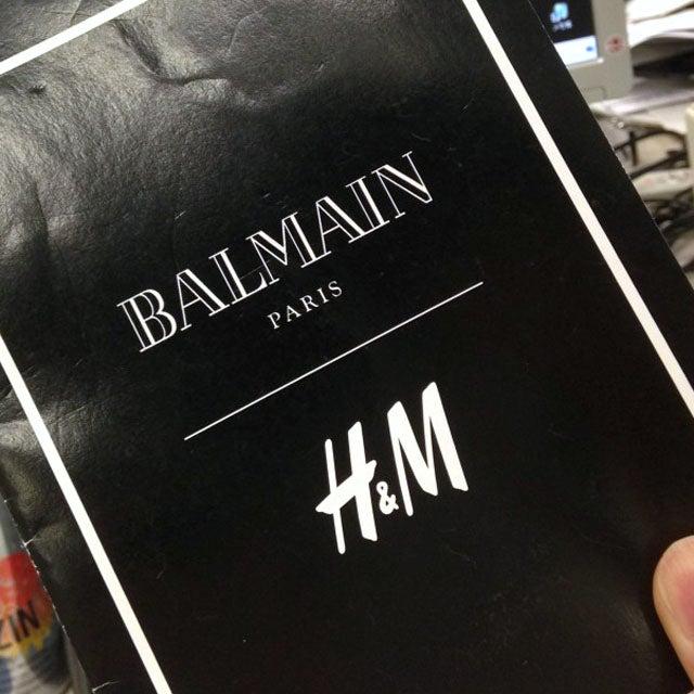 世界最速!「バルマン × H&M」買い物レポート①