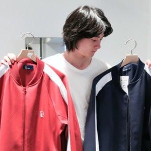 流行のトラックジャケットを、栁 俊太郎は「昔の〇〇風」に着る!