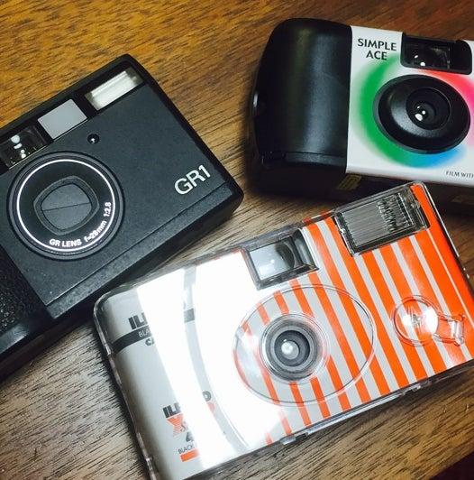 フイルムカメラが、3台に! すっかりカメラ男子です。