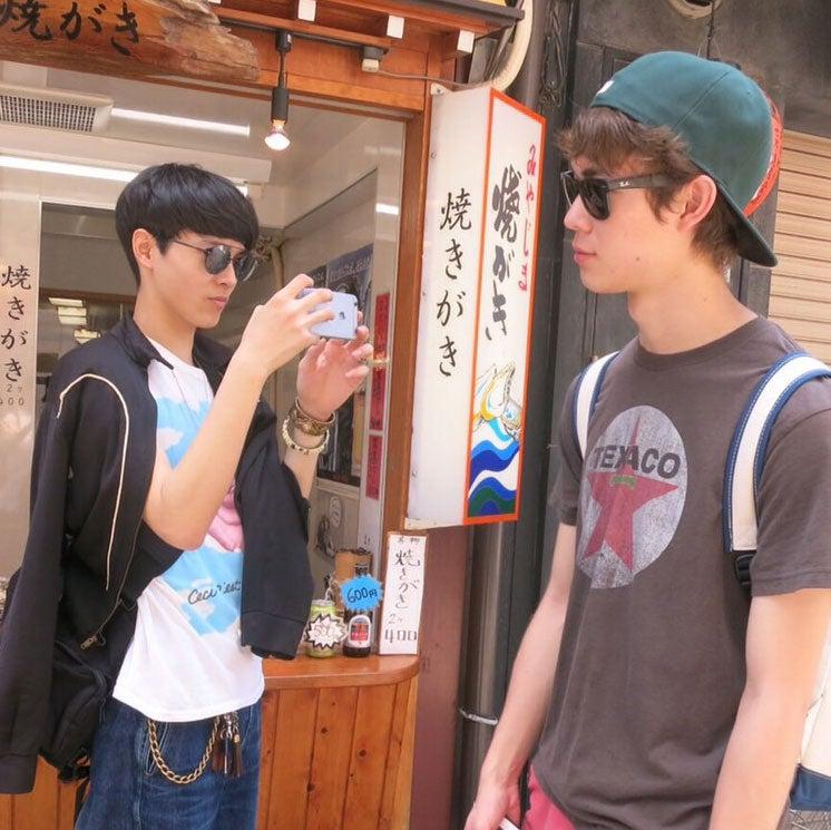 三宅くんと一緒に、広島を散策してきました!
