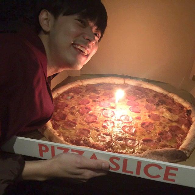 誕生日を祝ってもらうのって照れくさい、でも嬉しい。