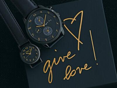 特別な日はいつもより大人な「アニエスベー」の時計で、愛を贈ろう