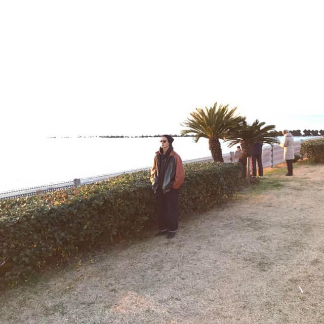 江ノ島の海で、初日の出を拝んできました!