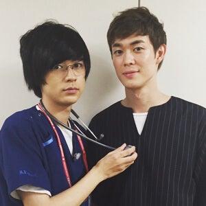 初めてのドラマ撮影に緊張…。そして『コードブルー』の成田くんに遭遇!