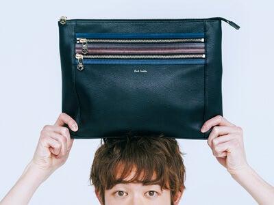 春から持ちたい!「ポール・スミス」のバッグ、財布、パスケース
