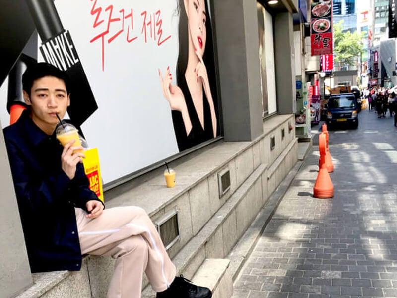 守屋先輩と人生初の韓国へ。メンズノンノ最新号の撮影をしてきました!