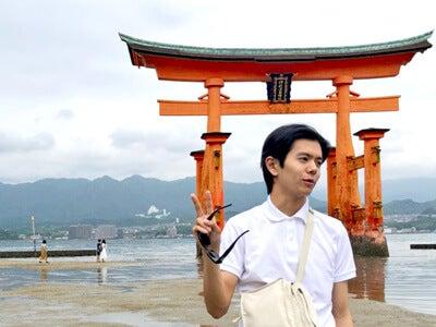 広島旅行にて。厳島神社の写真です