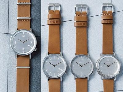 建築からインスパイア! KOMONOの腕時計「メトロポリス」