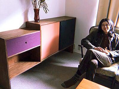 新居の棚を作りました! そして、6年も住んでいた前の部屋の話を。